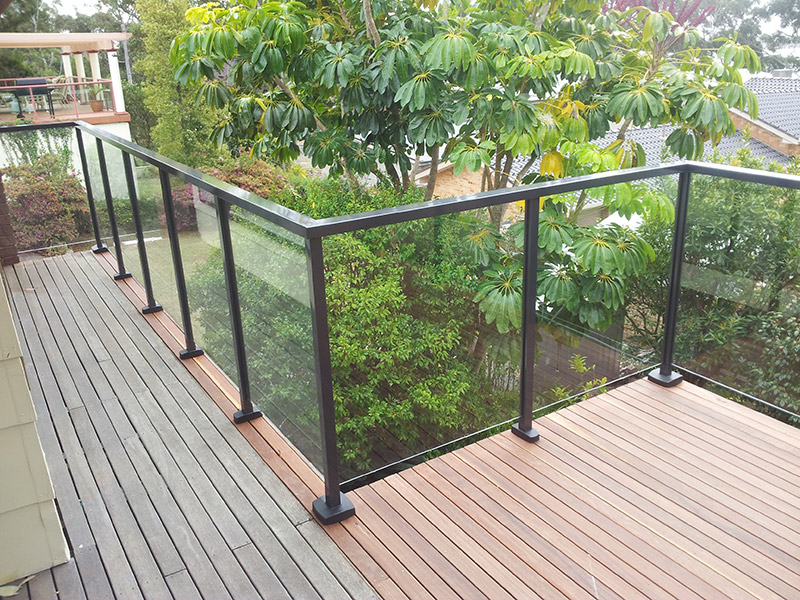 balustrades powder coated aluminium glass. Black Bedroom Furniture Sets. Home Design Ideas