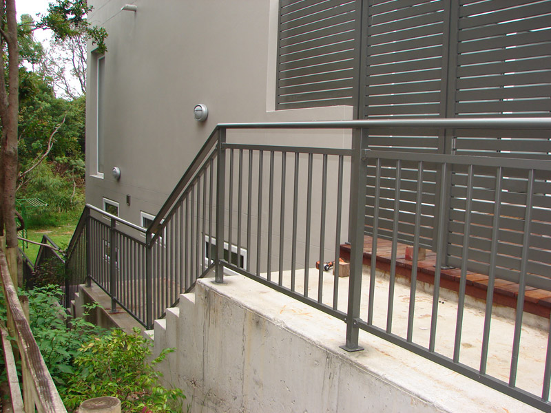 balustrades aluminium pickets. Black Bedroom Furniture Sets. Home Design Ideas