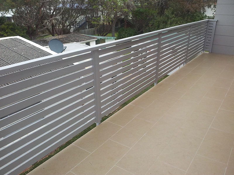 balustrades aluminium slats wires. Black Bedroom Furniture Sets. Home Design Ideas