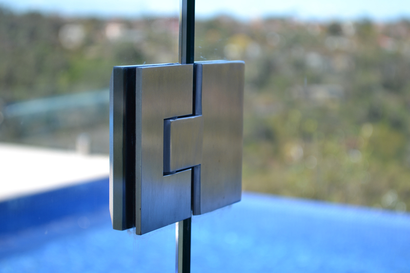Polaris Soft Close Hinges For Pool Fence Glass Gates